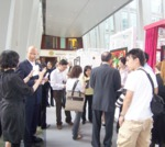 TV-Aufzeichnung der Präsentation + Ausstellung