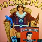 Morena meets la Morena (80x80 cm), Öl auf Leinwand