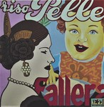 Riso Pelle meets Fallera ((80x80 cm), Öl auf Leinwand