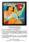 De Cecco meets La vace que rie (80x80 cm), Öl auf Leinwand